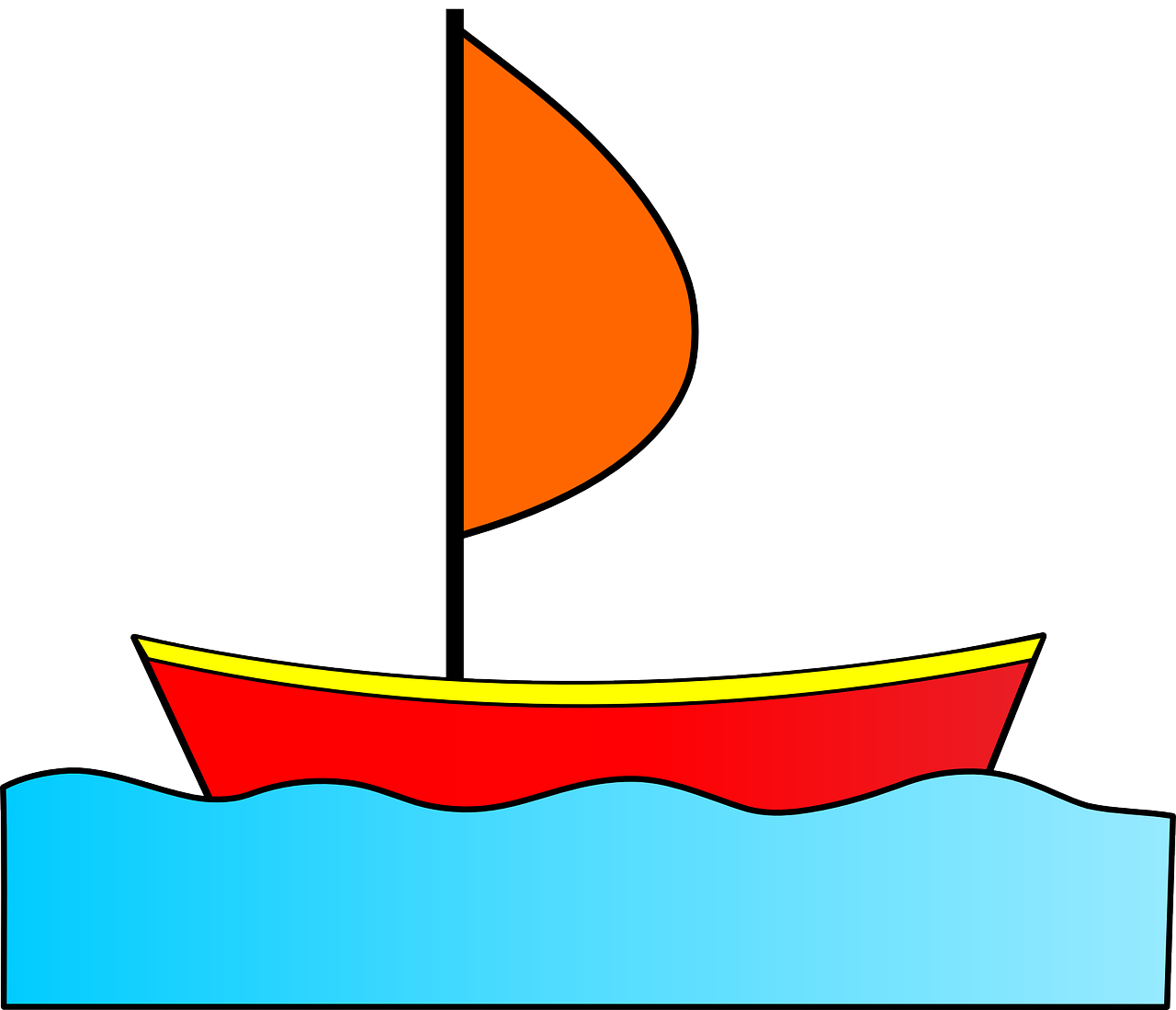 How to draw a boat 18