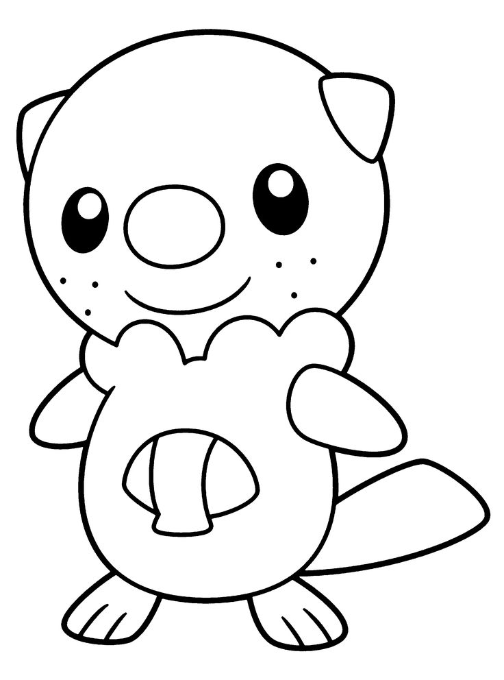 Pokemon-Coloring-Pages-printable Teddy