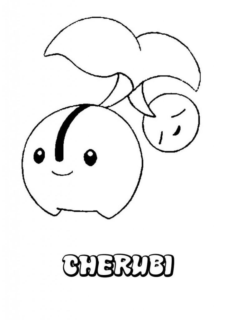 cherubi-coloring-page