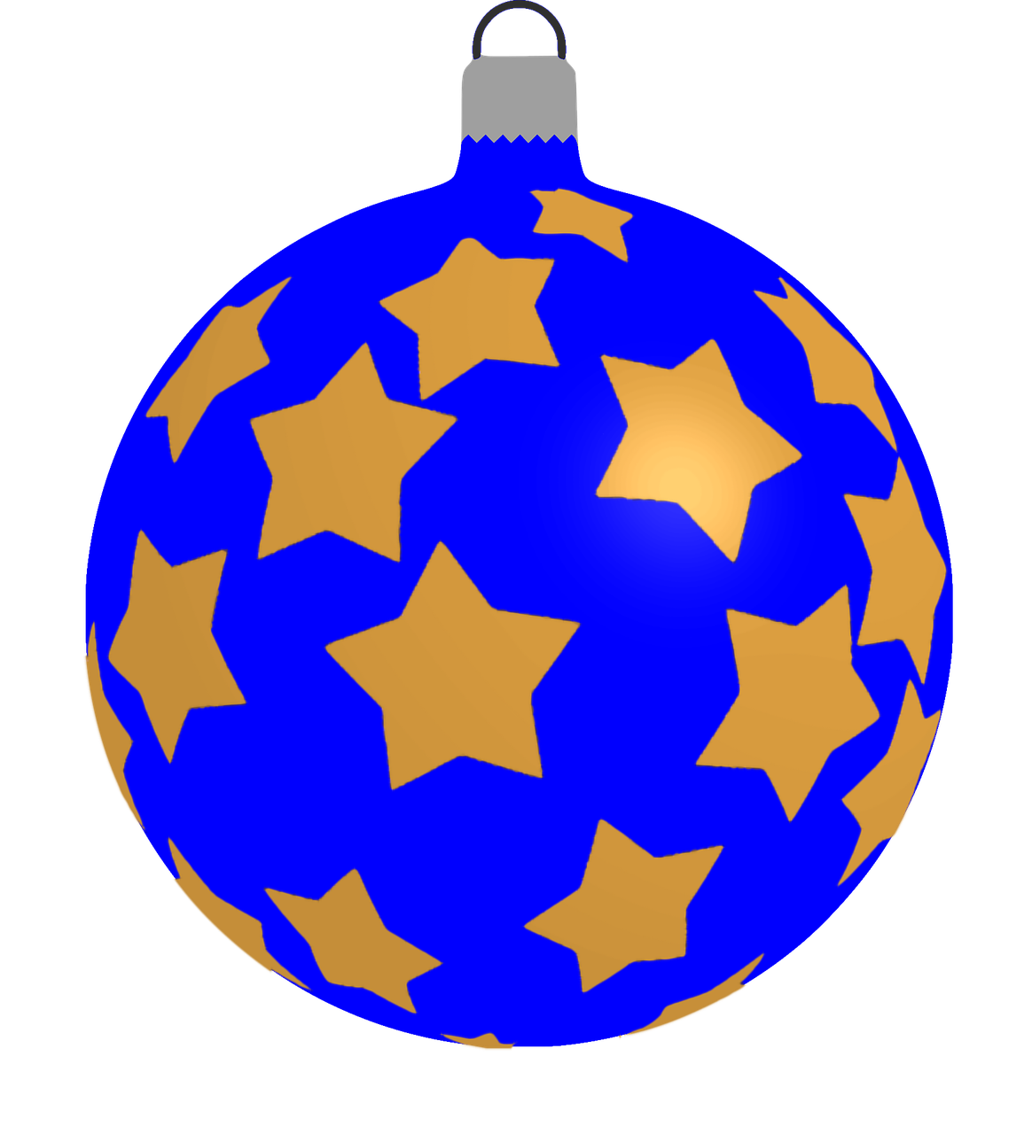 how to draw a Christmas ball, bauble 1