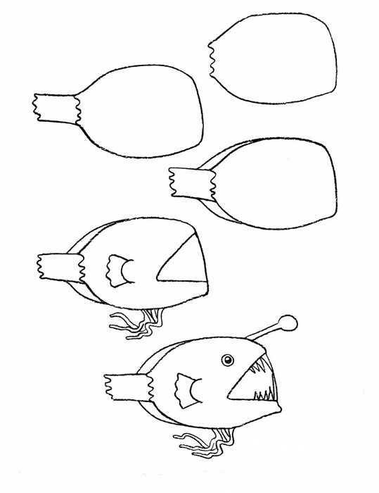 how to draw a fish 34