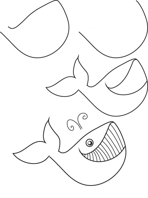 how to draw a fish 49