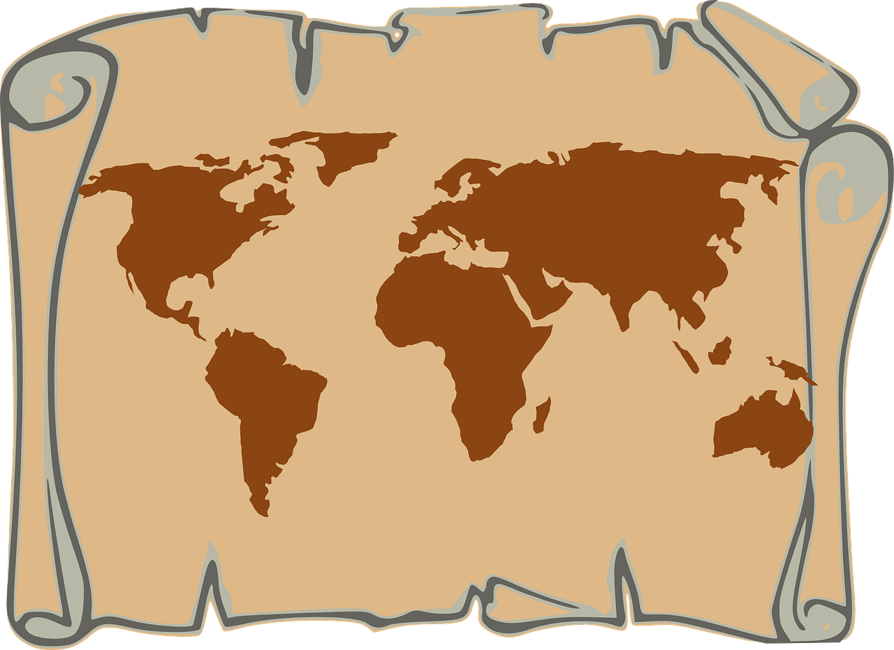 how to draw a map of the world 11