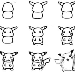 Pokemon archives how to draw in 1 minute how to draw pokemon step by step altavistaventures Image collections