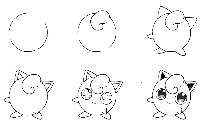 how to draw pokemon 2