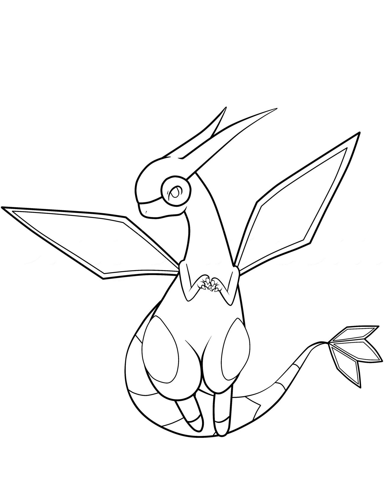 pokemon coloring pages 4