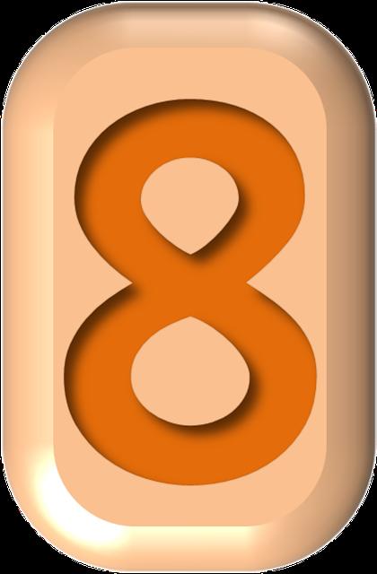 numbers printable 02 - 8