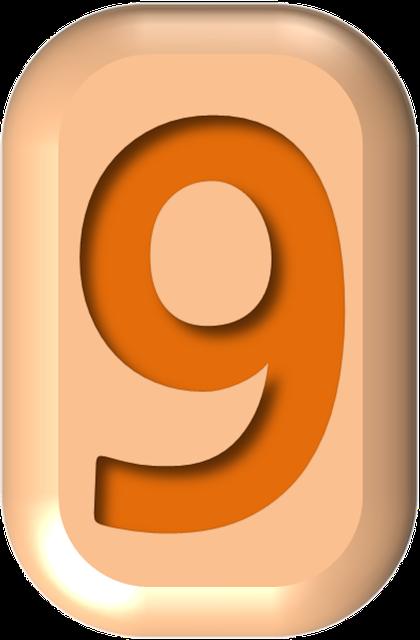 numbers printable 02 - 9