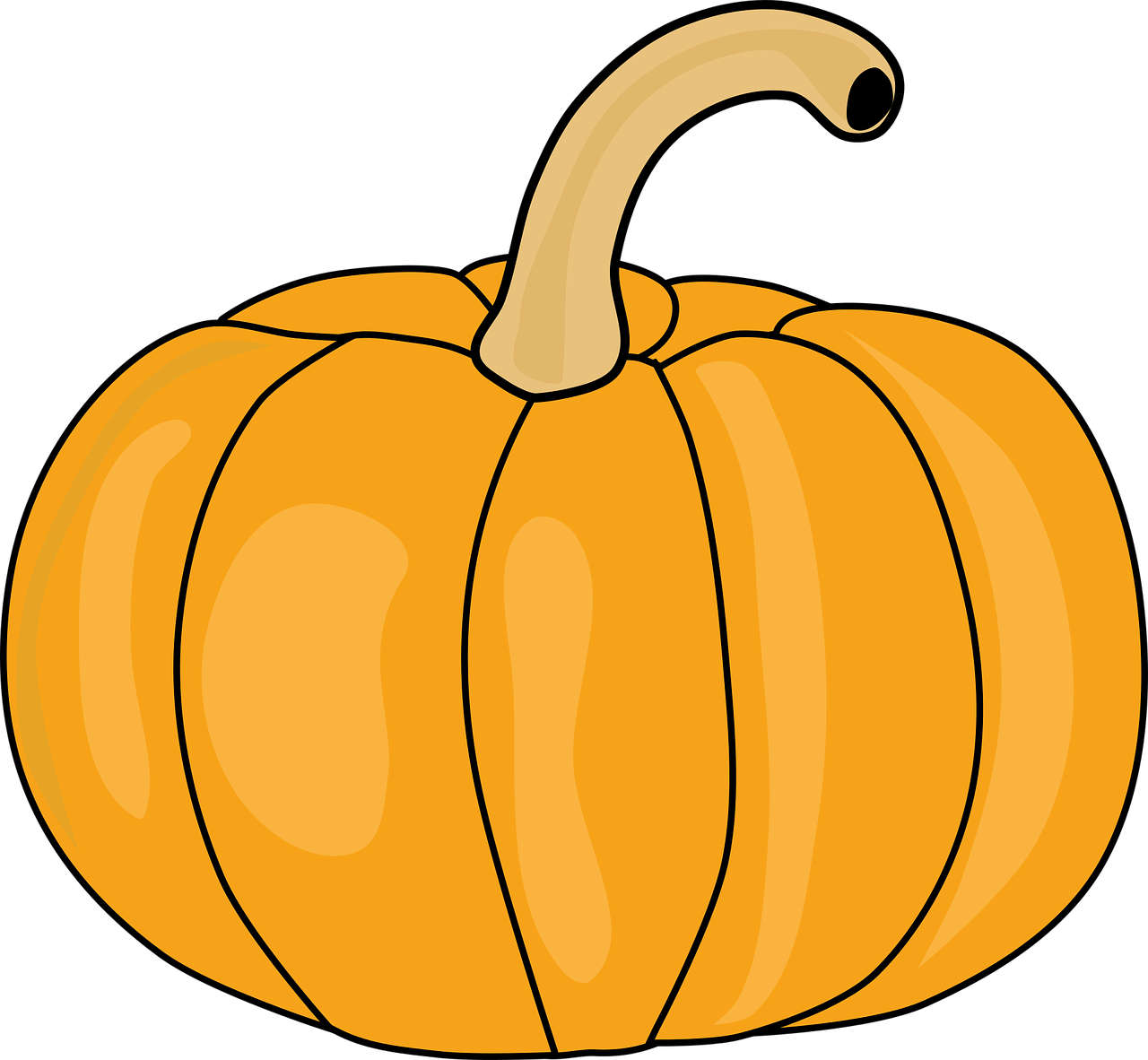 How to draw a pumpkin? HOW TO DRAW in 1 minute