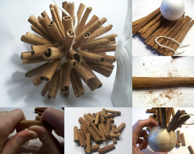 Christmas toys make yourself - 60 handmade ideas