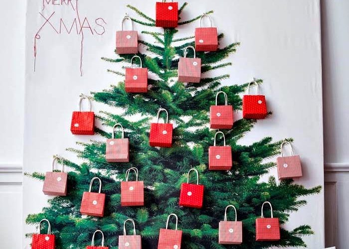 How to make a Christmas tree yourself - 65 cool ideas