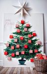 How to make a Christmas tree yourself – 65 cool ideas